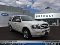 White Platinum Metallic Tri-Coat 2013 Ford Expedition