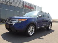 This outstanding example of a 2013 Ford Explorer XLT is