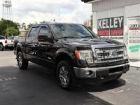 This 2013 Ford F150 XLT has a 3.5L V6 Eco Boost gas