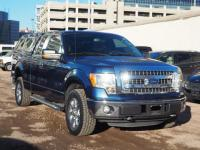 Blue Jeans Metallic 2013 Ford F-150 XLT 4WD 6-Speed