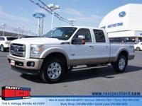 Tough and dependable our 2013 Ford F250 Lariat Crew Cab