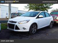 This lovely Oxford White Focus SE gets the CARFAX
