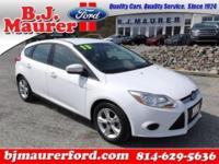 This one owner 2013 Ford Focus SE Hatchback features a