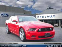 Race Red 2013 Ford Mustang GT RWD 6-Speed Manual 5.0L