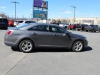 2013 Ford TaurusSEL Sterling Gray Charcoal, Sunroof