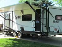 "2013 Forest River Vibe, This camper is 29""8"" long."