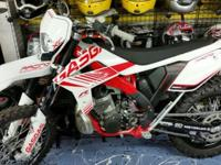 This Gas Gas has a few added options to this 2-stroke,