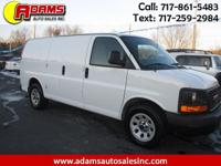 *CARGO WORK VAN* This 2013 GMC Savana 1500 Cargo van is