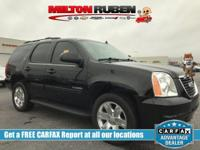This 2013 GMC Yukon 4dr 2WD 4dr 1500 SLT features a
