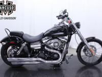 2013 FXDWG Dyna Wide Glide Low-down and beefy, it's got