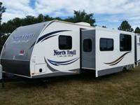 2013 Northtrail 32' travel trailer, 2 bedroom, 2 slide