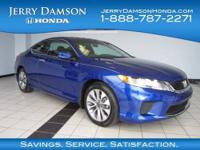 CARFAX 1-Owner. LX-S trim. EPA 35 MPG Hwy/26 MPG City!