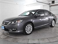 WOW! 2013 ACCORD EX-L SEDAN! LOADED! 2.4 L I4 DOHC