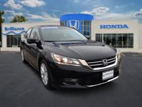 Honda Certified, One Owner Accord EX. This vehicle