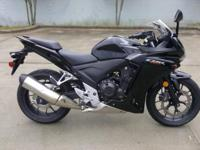 I presently have a 2013 Honda Cbr 500 for sale. This