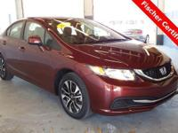 7,000 Mile 2013 Honda Civic ** EX ** 39 MPG!! Basically