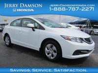 CARFAX 1-Owner, GREAT MILES 4,849! LX trim. Bluetooth,