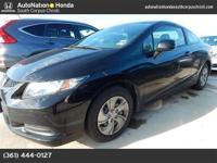 This 2013 Honda Civic Cpe LX is happily offered by