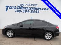 *** HONDA CERTIFIED PRE OWNED *** This 2013 Honda Civic