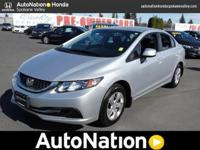 AutoNation Honda Spokane Valley is honored to present a