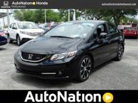 This 2013 Honda Civic SI Sdn is offered to you for sale