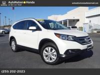 2013 Honda CR-V EX-L w/Navigation with 32k miles.