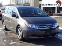 This is the 2013 Honda Odyssey EX-L brought to you by