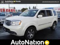 This 2013 Honda Pilot Touring is provided to you for