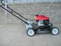 Yard Mowers Walk-Behind Mowers. the Honda HRS216PDA is