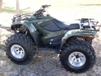 This 2013 Honda TRX420 Rancher is a 4x4 and in like