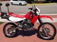 Like New Condition On This XR650L. NEVER Off Road,