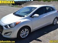 This 2013 Hyundai Elantra GT w/Blue Int is offered to
