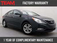 *Very Low Miles*Nicely Equipped 2013 Hyundai Sonata