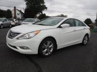 This 2013 Hyundai Sonata Limited is complete with