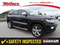 2013 JEEP GRAND CHEROKEE WAGON 4 DOOR 4WD 4dr Overland