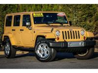 CARFAX One-Owner. Dune 2013 Jeep Wrangler Unlimited