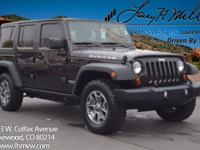 This 2013 Jeep Wrangler Unlimited Rubicon comes with