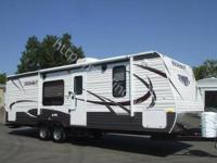 Brand new 2013 27RBWE Model 27ft class bunkhouse Travel