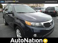 This Kia includes: GRAY| SEAT TRIM BALTIC BLUE BACK UP