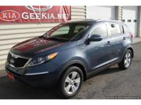 CARFAX 1-owner, All Wheel Drive Sportage LX. The
