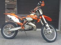 2013 KTM 300 XC For Sale: Nice 13' KTM 300 XC. Original