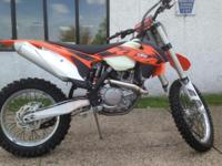 2013 KTM 450 XC-F New 2013 Race ready the brand new