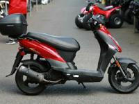 Make: Kymco Year: 2013 Condition: Used 3734 miles,