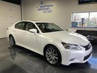 This 2013 Lexus GS 350 has a 3.5 liter, V6, RWD, AM/FM