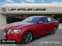 New Arrival! * CarFax One Owner! * This 2013 Lexus GS