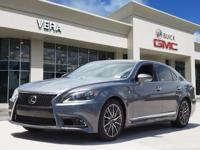 This Nebula Gray Pearl 2013 Lexus LS 460 460 might be