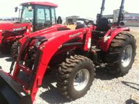 Versatile and rugged 4WD compact tractor with a