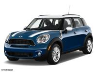 2013 MINI Cooper S Countryman!  Cetified Pre Owned!