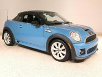 Here we have a 2013 MINI Cooper Coupe S in Lightning