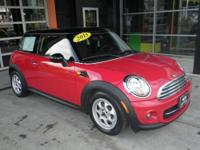 CARFAX 1-Owner, MINI Certified. Cooper Hardtop trim.